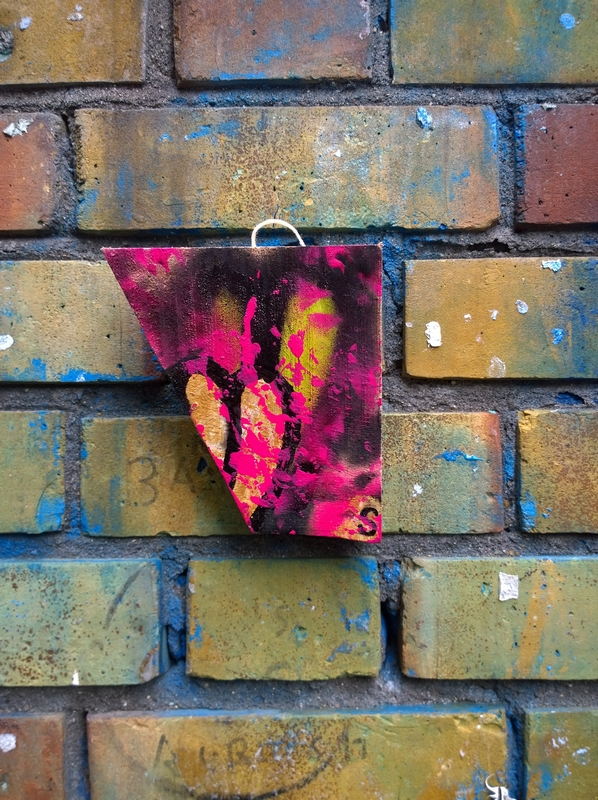 London, Shoreditch, street art, tours, walks, found art, free art, #365artdrops, Sean Worrall