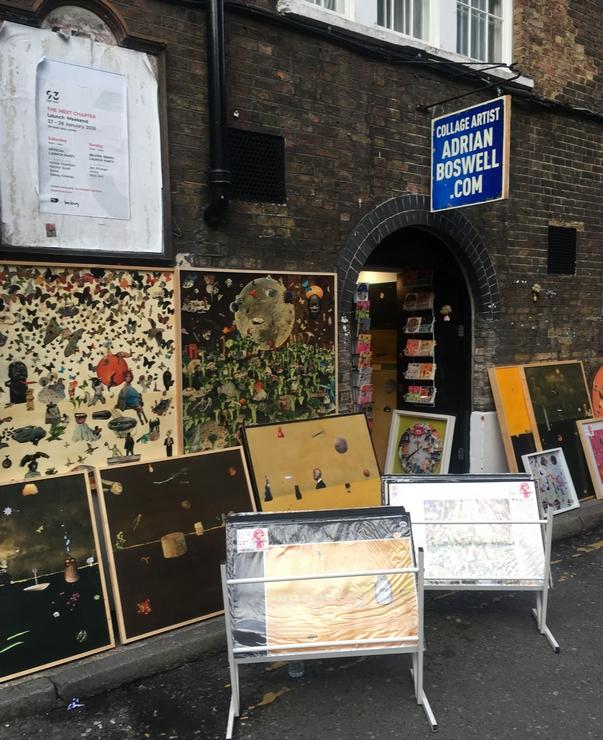Shoreditch, London, street art, tours, broccoli, broccoli man, Adrian Boswell
