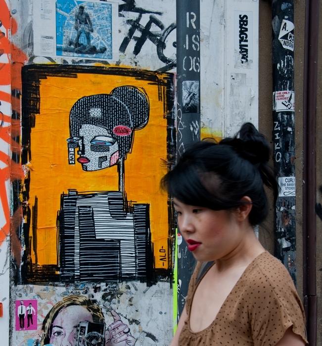Street Art, Shoreditch, London, street art tour, tour guide, Banksy, Stik, Roa, Dismaland, Dr D, Vermibus, Alo, Clet Abraham,